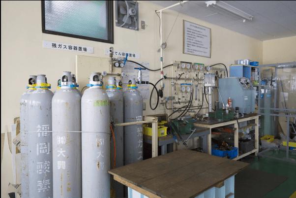 第二工場 高圧バルブ